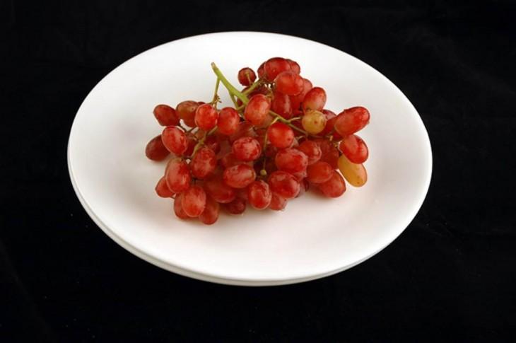 racimo de uva de 200 calorias