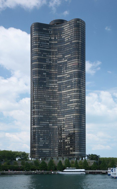 Lake point tower. chicago
