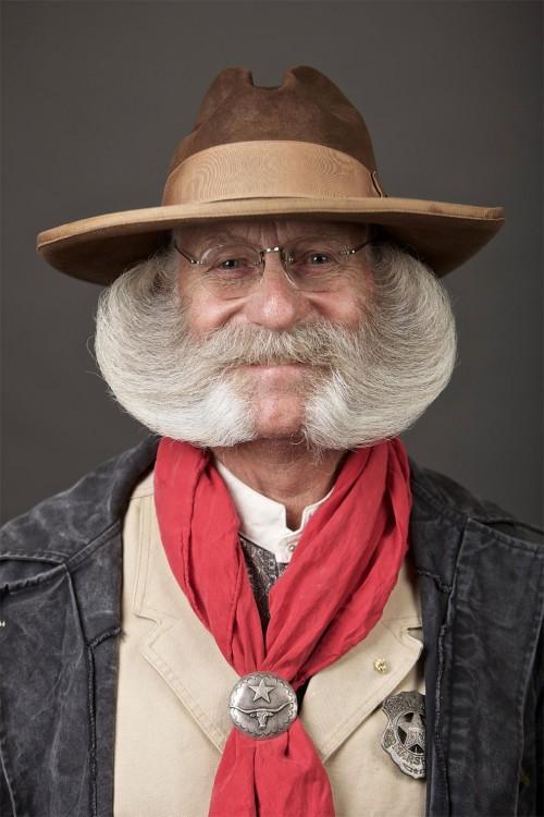 rarisima barba antigua y lisa