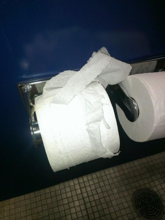 papel higienico que se rompe