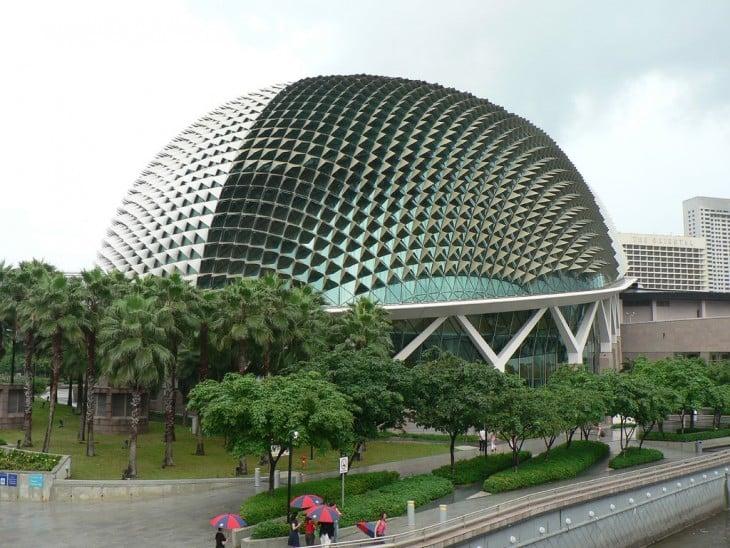 Teatr de la explanada Singapour