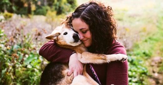 fotografa se despide de su perro
