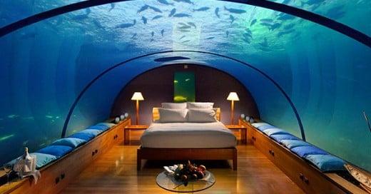 hotel bajo el agua en zanzibar