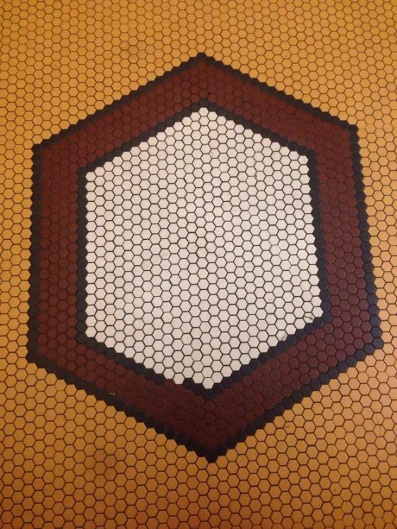 mosaico que esta mal acompdodado