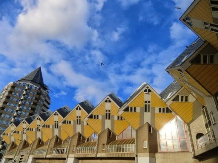 17. Apartamentos cúbicos, Rottterdam Holanda
