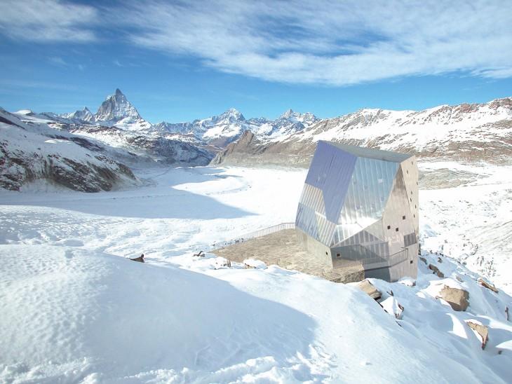 Monte Rosa Hut, Suiza
