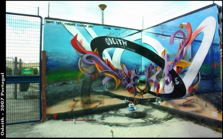 Graffiti 3D por Odeith (17)