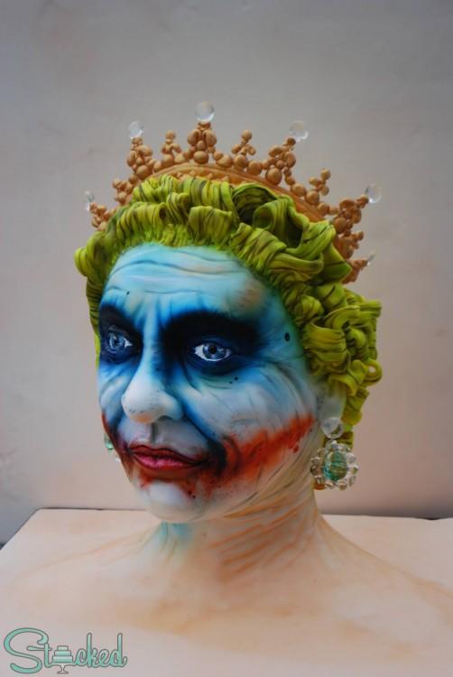 pastel de la reina de inglaterra