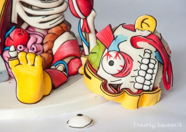 pastel de Ralph de los Simpson