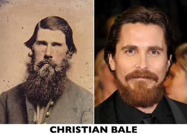 christian bale actual y señor de apellido O'brian de 1800