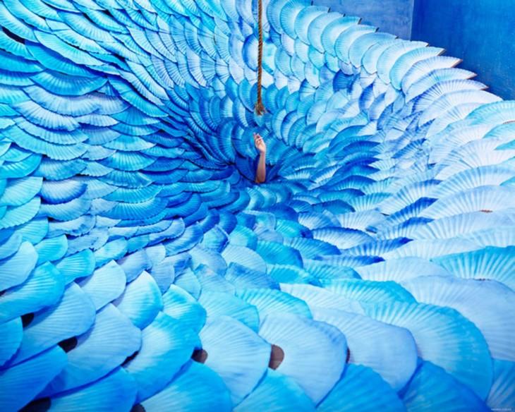 Convierte su estudio en lugares surrealistas sin photoshop