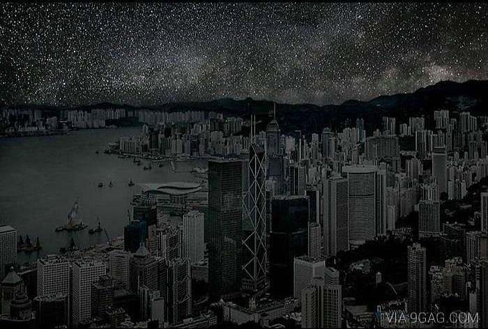 ciudades a oscuras hong kong