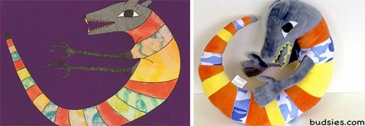 Transforma Dibujos Infantiles En Verdaderos Peluches
