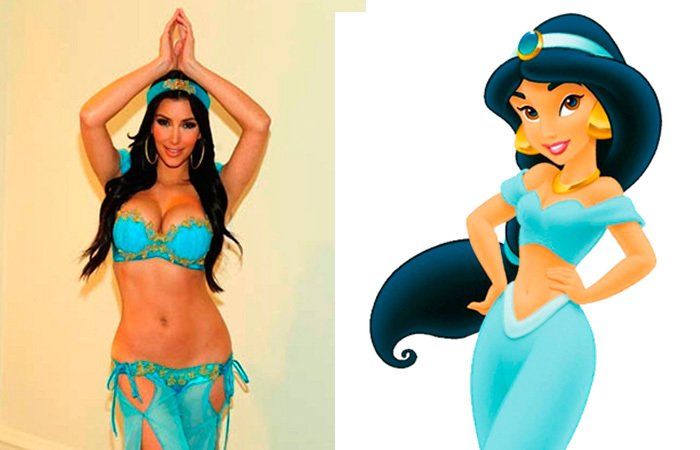 Personas que son idénticos a personajes de dibujos animados