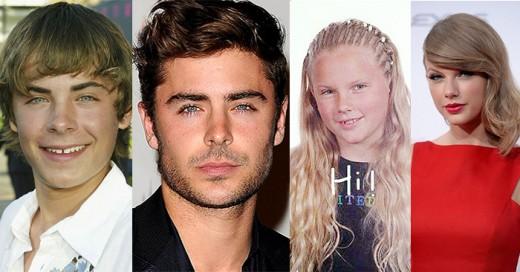 celebridades que dieron un cambio enorme en su apariencia