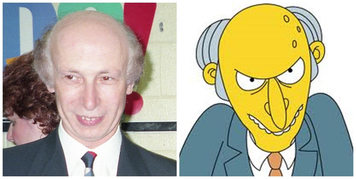 personas idénticas a personajes animados
