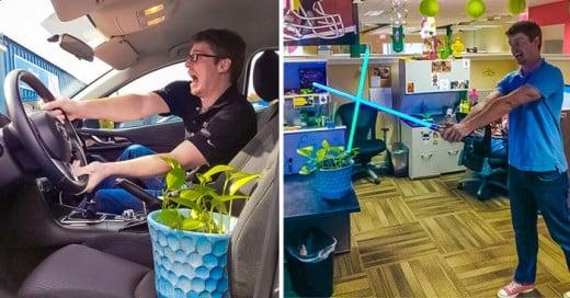 compañero de trabajo pide que le cuiden su planta por 4 dias y sucedio esto