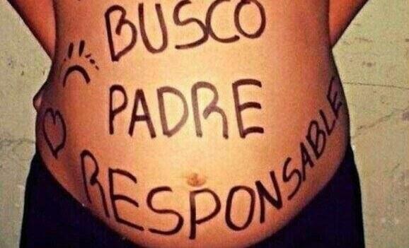 embarazada panza pintada busca padre
