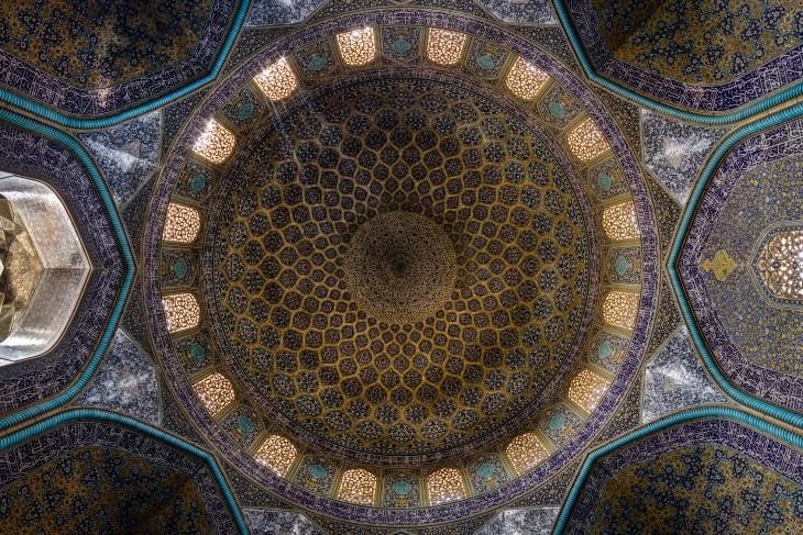 techo de mezquita