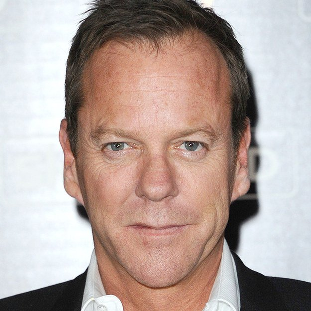 11. Donald & Kiefer Sutherland
