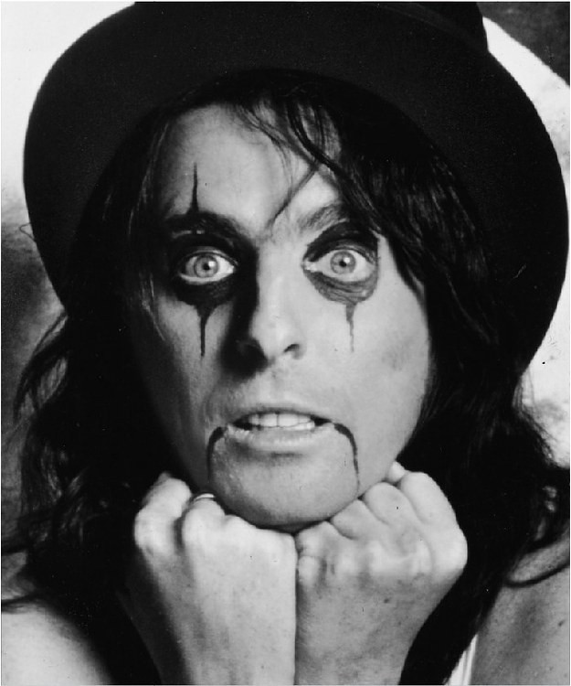 9. Alice Cooper, Vincent damon Furnier