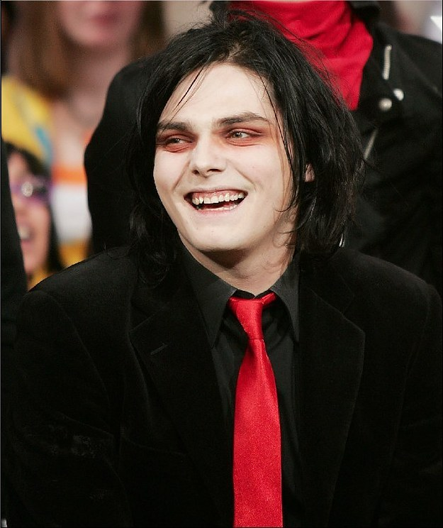 7. My Chemical Romance, Gerard Way