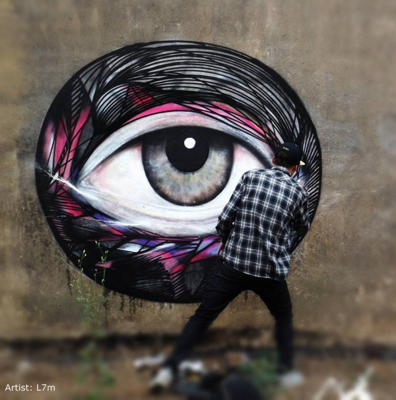 19 Best Images About Artist Brandon Miller On Pinterest: Los Mejores Murales Urbanos Y Grafittis Del Mundo