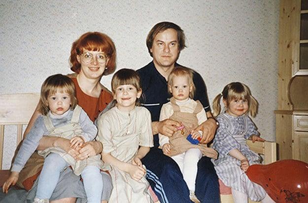 familia década del 70
