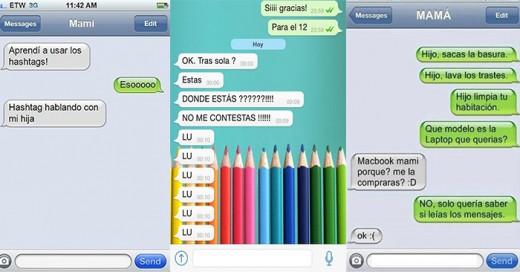 mensajes de texto que solo una madre hace