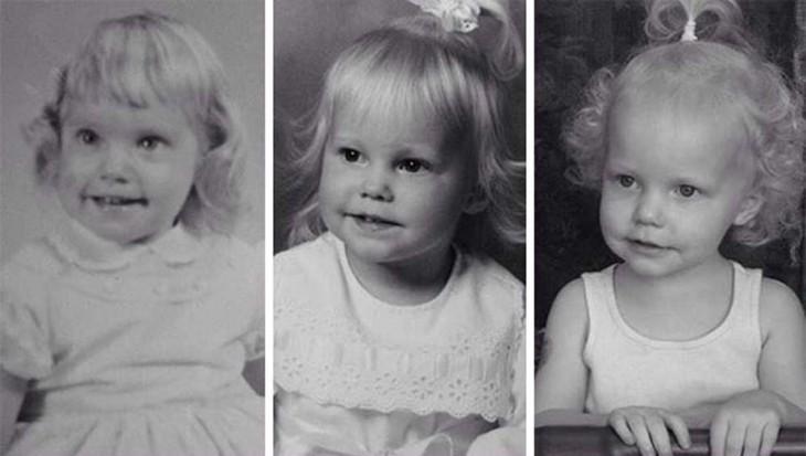 3 niñas parecidos