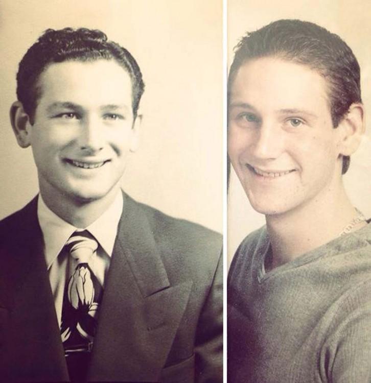 dos hombres parecidos