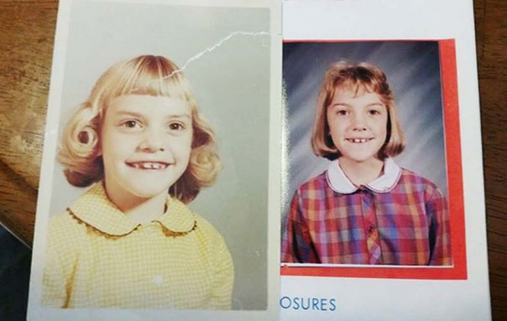 2 niñas parecidos