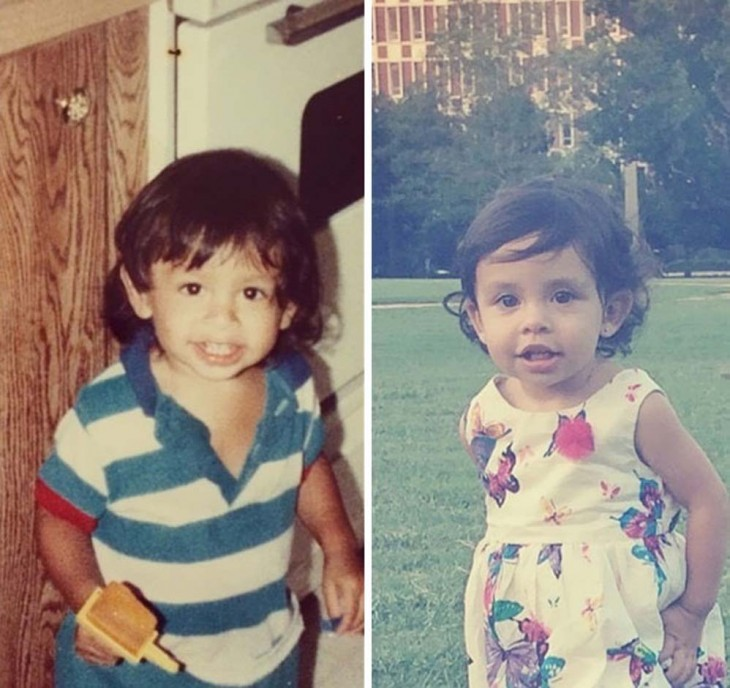 2 niños parecidos