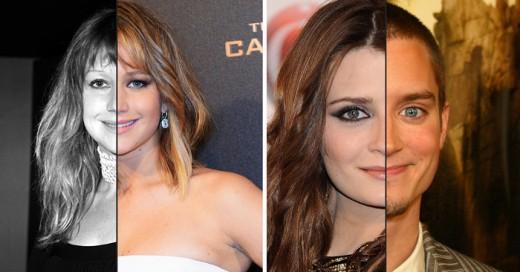 famosos que son identicos de la cara