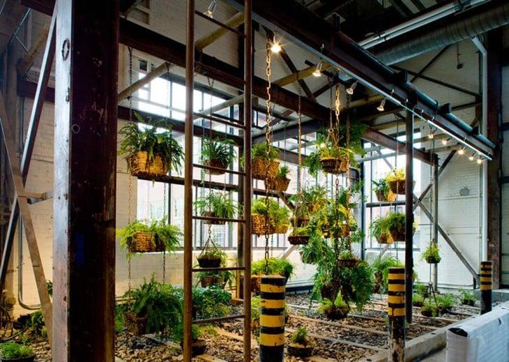 oficina con jardin