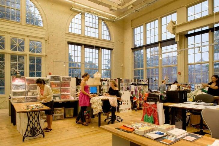 oficina diseño de moda