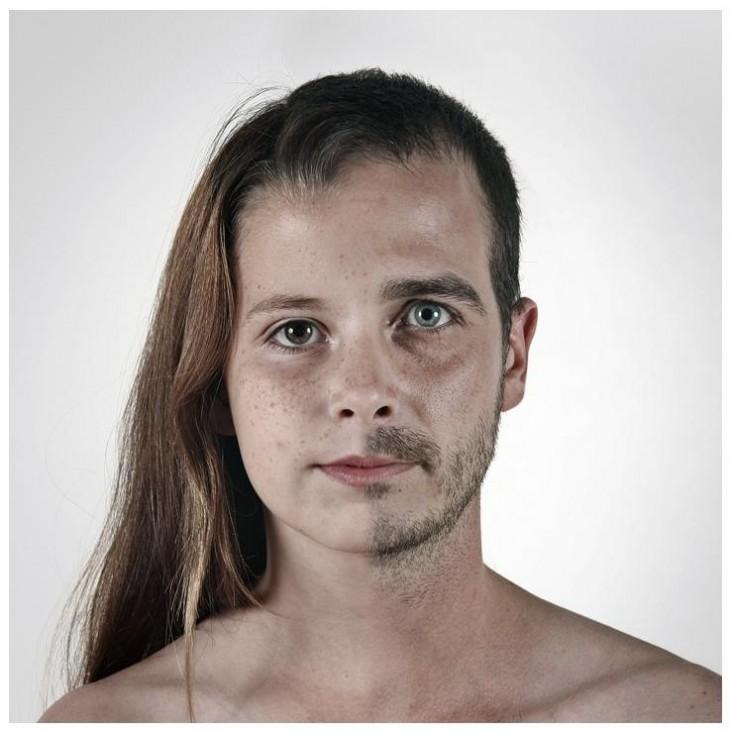 dos caras de personas diferentes