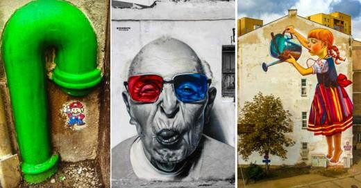 los mejores murales urbanos del mundo
