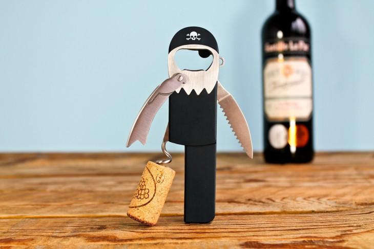 sacacorchos pirata