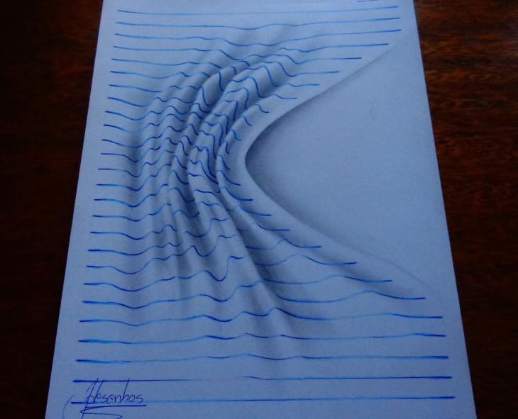 João A Carvalho tsunami 3d en bloc de notas