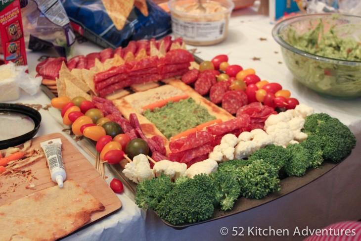 estadio hecho de comida para vegetarianos