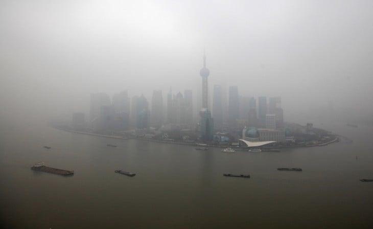 Beijing contaminado