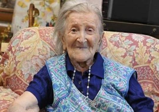 Emma Morano la mujer más longeva de Europa