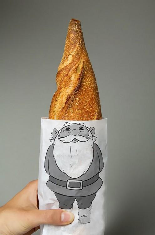 bolsa de gnomo para pan