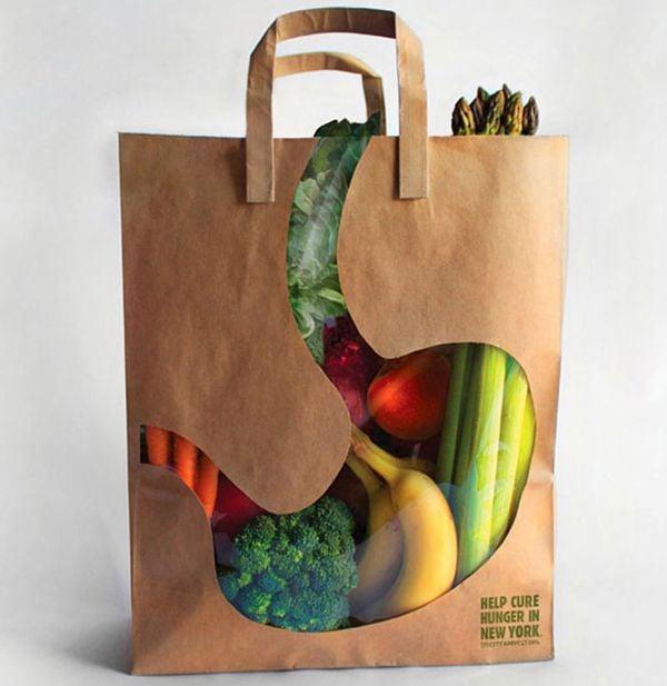 bolsa para tu comida saludable