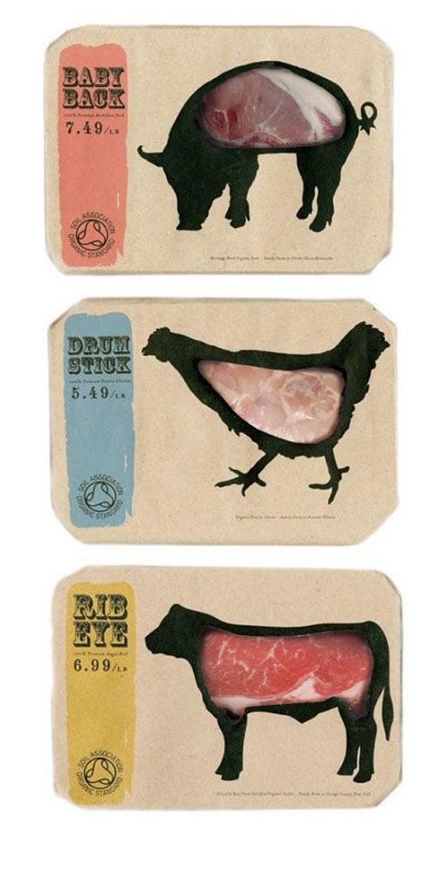 Empaque que te permite ver la carne que consumes