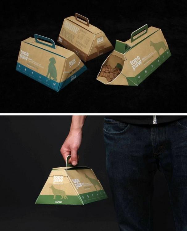 Transportadora de alimento para mascotas