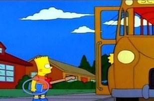 Errores en los simpson el libro de Bart cambia de color
