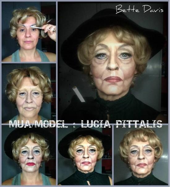Lucía Pitallis como Bette Davis