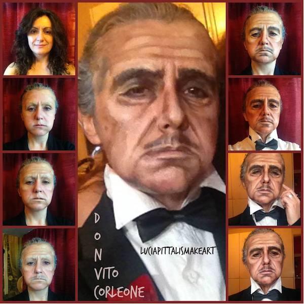 Lucía Pitallis como Don Vito Corleone